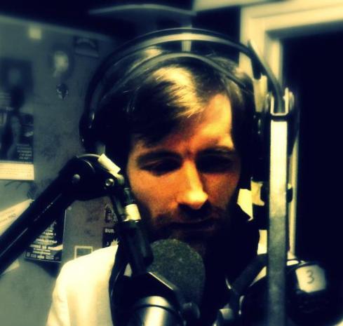 Stéphane-Emmanuel RAYNAUD de FITTE au studio de Radio HDR by (c) Louise B.